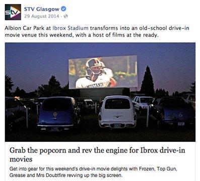 earwig drive in movie