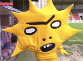 looklike thistle mascot