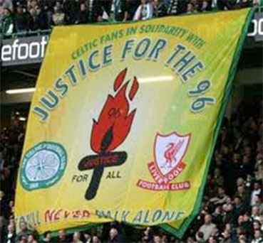 hillsborough celtic banner