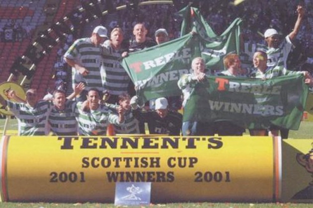 cup 2001 team