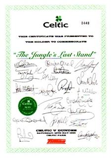 jungle certificate