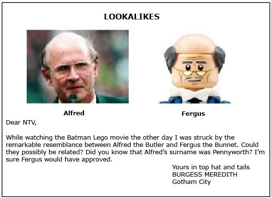 looklike fergus and alfred