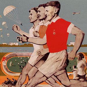 ussr poster sport