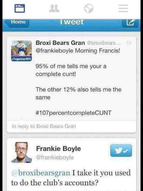 earwig frankie boyle