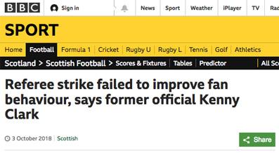 refs bbc headline